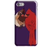 Two Cardinals in Love iPhone Case/Skin