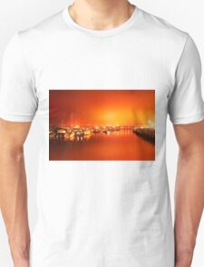 Harbor rays  Unisex T-Shirt