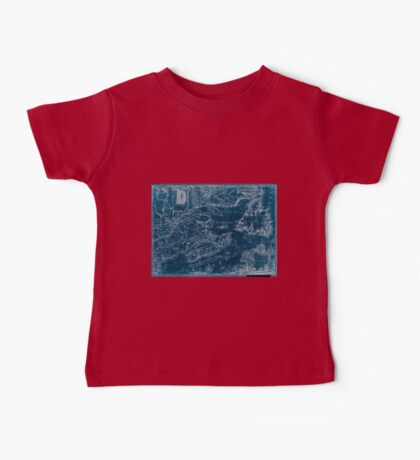 American Revolutionary War Era Maps 1750-1786 969 This map of the province of Nova Scotia and parts adjacent Inverted Baby Tee