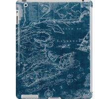 American Revolutionary War Era Maps 1750-1786 969 This map of the province of Nova Scotia and parts adjacent Inverted iPad Case/Skin