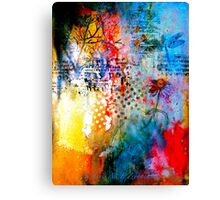 A Winter Journal... Canvas Print