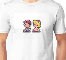 Paula and Ness Sitting  Unisex T-Shirt