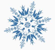 Snowflake Baby Tee