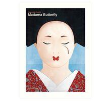 Giacomo Puccini - Madama Butterfly Art Print