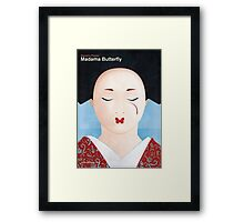 Giacomo Puccini - Madama Butterfly Framed Print