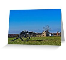 The Guns of Manassas Greeting Card