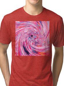 Astronaut (Abstract 37) Tri-blend T-Shirt