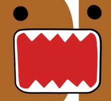 Domo Monster in JDM letters Sticker
