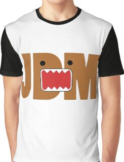 Domo Monster in JDM letters Graphic T-Shirt