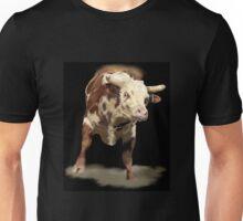 Bucking Rodeo Bull Cowboy Up Unisex T-Shirt