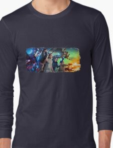 DC Legends of Tomorrow Paint Splash Long Sleeve T-Shirt