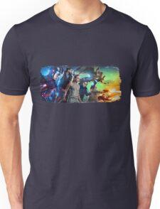 DC Legends of Tomorrow Paint Splash Unisex T-Shirt
