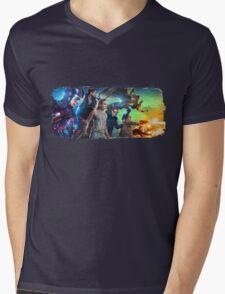 DC Legends of Tomorrow Paint Splash Mens V-Neck T-Shirt