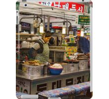 Gwangjang Market Food Booth iPad Case/Skin