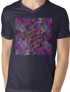 Fractal Insanity Mens V-Neck T-Shirt