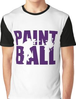 Paintball Graphic T-Shirt