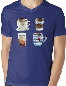 For coffee lover Mens V-Neck T-Shirt