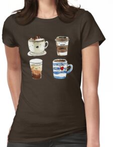 For coffee lover Womens Fitted T-Shirt