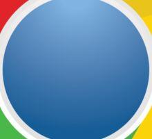 Google Chome logo Sticker