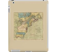 A new and accurate map of North America (1771) iPad Case/Skin