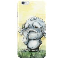 Monster and Snail iPhone Case/Skin