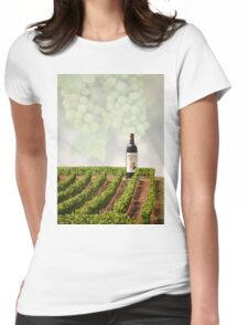 Wineyards  Womens Fitted T-Shirt