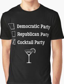Democratic Republican Cocktail Party T Shirt Graphic T-Shirt
