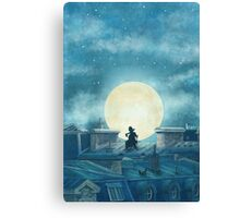 Rooftoppers Canvas Print