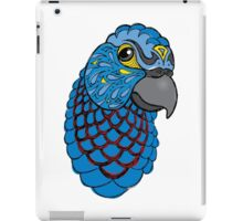 Blue Macaw iPad Case/Skin