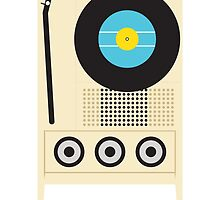 Portable Record Player by Mitchell Massie
