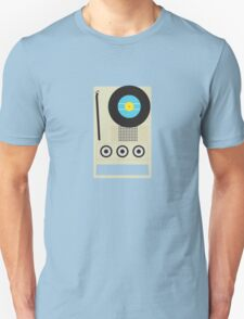 Portable Record Player Unisex T-Shirt