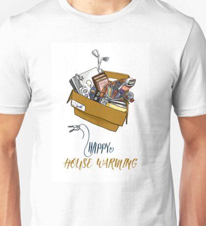 Happy House Warming Unisex T-Shirt