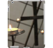 Candle and cross iPad Case/Skin