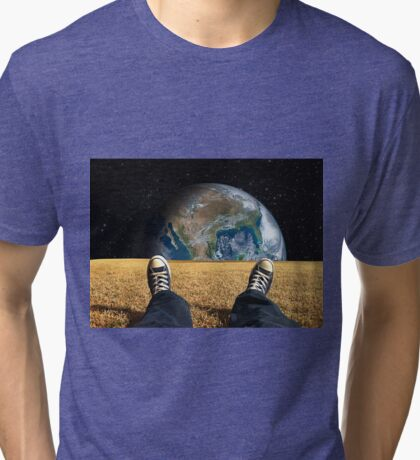 World View Tri-blend T-Shirt