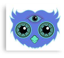 3rd Eye Owl Canvas Print