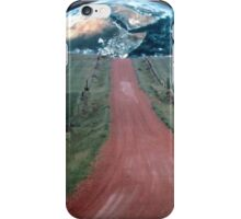 Earthrise Over Farm Over Farm Colony One iPhone Case/Skin