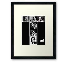 Ted Bundy Serial Killer Framed Print
