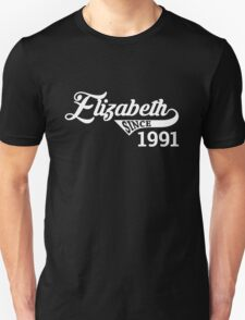 Elizabeth - Since 1991 Unisex T-Shirt
