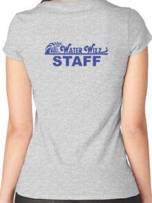 Water Wizz - STAFF Women's Fitted Scoop T-Shirt