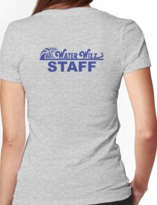 Water Wizz - STAFF Womens Fitted T-Shirt