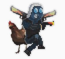 Counter:Strike - Global Offensive Chicken and CT model One Piece - Long Sleeve