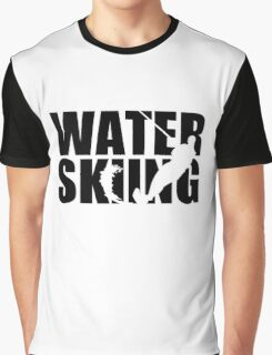 Water skiing Graphic T-Shirt
