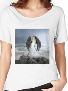 winged woman with beauty Women's Relaxed Fit T-Shirt