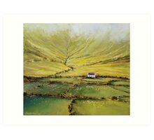 Kerry farmhouse Art Print