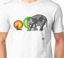 Buddha & The Elephant  Unisex T-Shirt