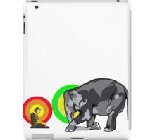 Buddha & The Elephant  iPad Case/Skin