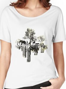 Nature -human Women's Relaxed Fit T-Shirt