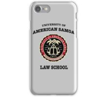 University of American Samoa iPhone Case/Skin