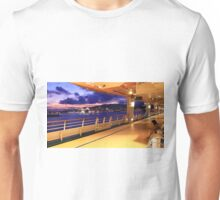 Leaving Palma de Maiorca . Adventure of the Seas. Cruise Unisex T-Shirt