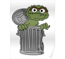 Oscar The Grouch Poster